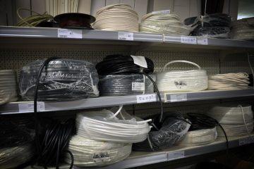 Kabli in ostali material