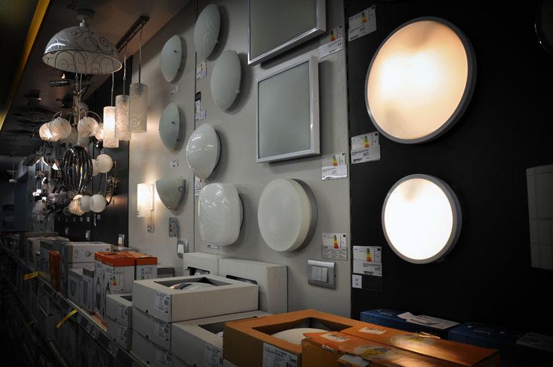 svetila, luči in oprema